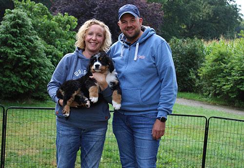 Familie Kuhlmann aus Bückeburg mit ihrer Almuth