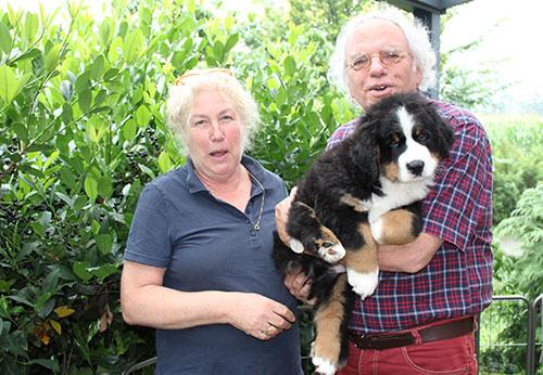 Familie Krück aus Hagen mit ihrem Amadeus